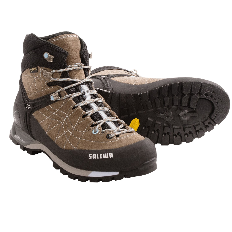 Salewa Mountain Trainer Mid Gore Tex® Hiking Boots (For Women) 8527N ... 0db21b498