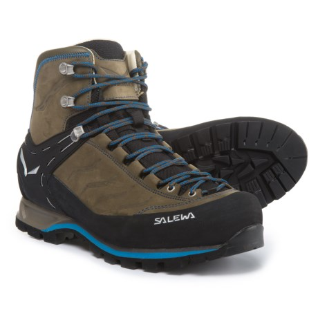 Salewa Mountain Trainer Mid Gore-Tex(R) Hiking Boots - Waterproof, Nubuck (For Men)