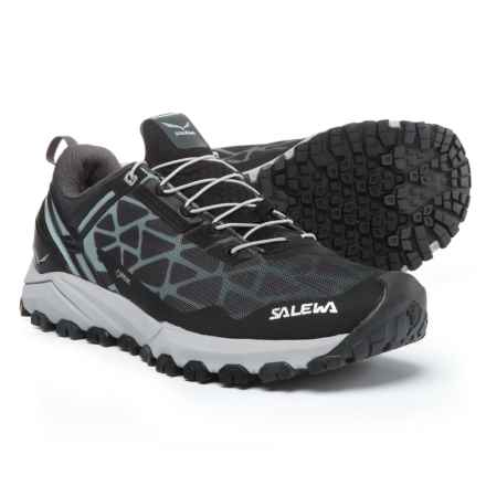 Salewa Multi Track Gore-Tex® Trail Running Shoes - Waterproof (For Women) in Black/Silver - Closeouts