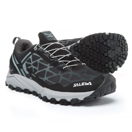 Salewa Multi Track Gore-Tex® Trail Running Shoes - Waterproof (For Women) in Black/Silver