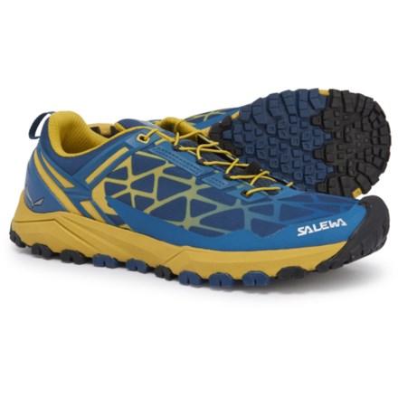 4a16b57655eb2 Salewa Multi Track Trail Running Shoes (For Men) in Dark Denim Kamille