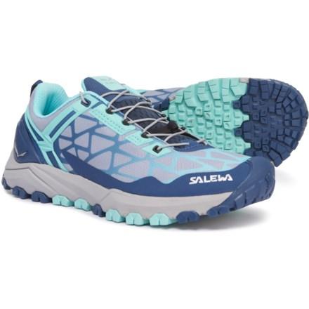 23aebcd1cd0c9a Salewa Multi Track Trail Running Shoes (For Women) in Dark Denim Aruba Blue