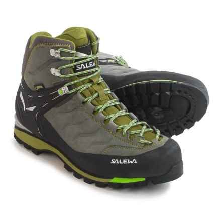 Salewa Rapace Gore-Tex® Boots - Waterproof (For Men) in Pewter/Emerald - Closeouts