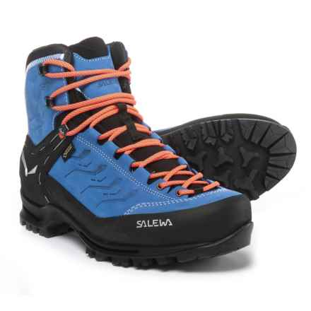 Salewa Rapace Gore-Tex® Boots - Waterproof (For Men) in Royal Blue/Papavero - Closeouts