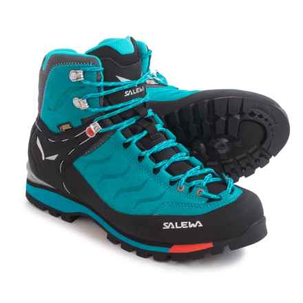 Salewa Rapace Gore-Tex® Hiking Boots - Waterproof (For Women) in Crystal/Clementine - Closeouts