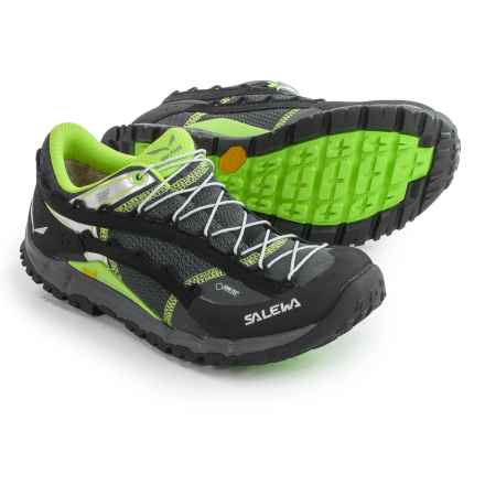 Salewa Speed Ascent Gore-Tex® Shoes - Waterproof (For Women) in Carbon/Emerald - Closeouts