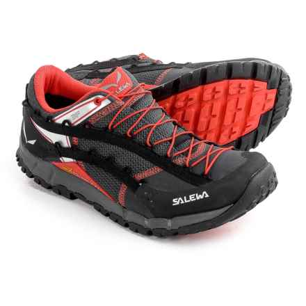 Salewa Speed Ascent Trail Running Shoes (For Men) in Carbon/Flame - Closeouts