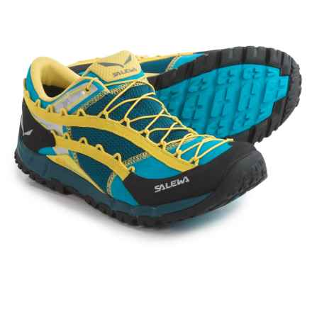 Salewa Speed Ascent Trail Running Shoes (For Men) in Winter Night/Mimosa - Closeouts