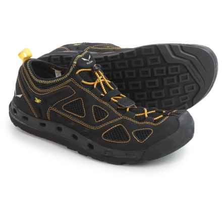 Salewa Swift Water Shoes (For Men) in Black Out/Mimosa - Closeouts