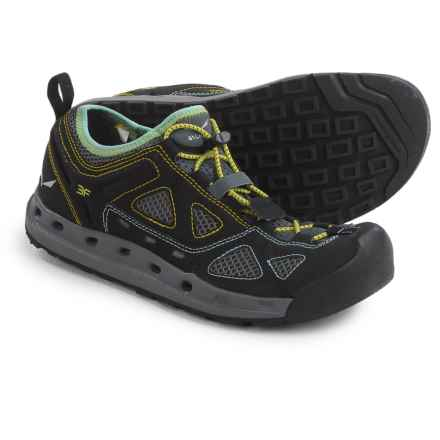 Salewa Swift Water Shoes (For Women) in Black Out/Swing Green - Closeouts