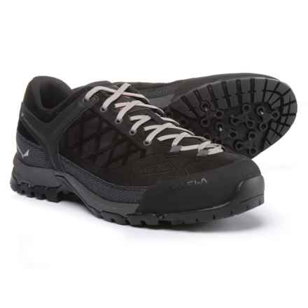 Salewa Trektail Hiking Shoes (For Men) in Black Out/Rusty Rock - Closeouts