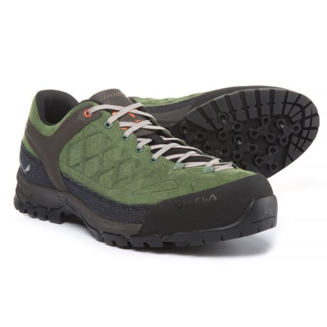 Salewa Trektail Hiking Shoes (For Men) in Myrtle/Rusty Rock