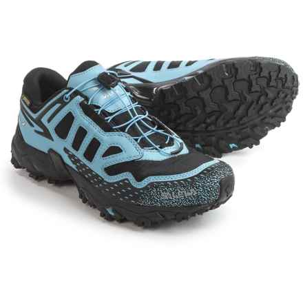 Salewa Ultra Train Gore-Tex® Trail Running Shoes - Waterproof (For Women) in Black/Blue - Closeouts