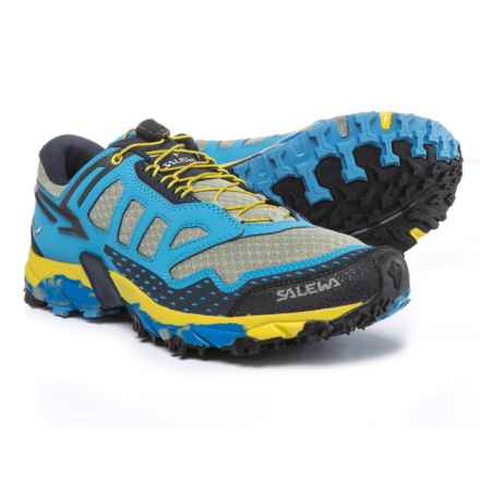Salewa Ultra Train Trail Running Shoes (For Men) in Siberia/Night Black - Closeouts