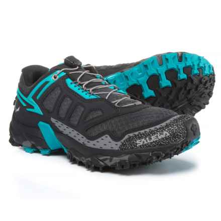 Salewa Ultra Train Trail Running Shoes (For Women) in Black Out/Ocean - Closeouts