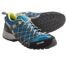 Salewa Wildfire Gore-Tex® Trail Shoes - Waterproof (For Women) in Davos/Sulphur - Closeouts