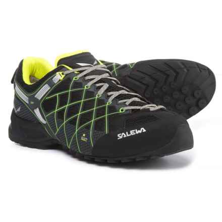 Salewa Wildfire S Gore-Tex® Hiking Shoes - Waterproof (For Men) in Black/Citro - Closeouts