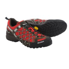 Salewa Wildfire Vent Hiking Shoes (For Men) in Flame/Basilico - Closeouts