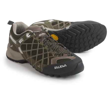 Salewa Wildfire Vent Hiking Shoes (For Women) in Black/Juta - Closeouts