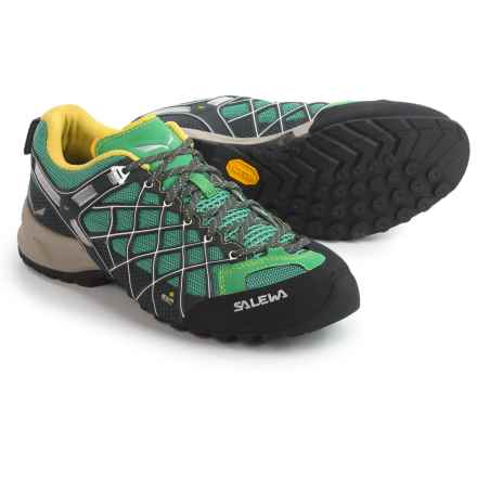 Salewa Wildfire Vent Hiking Shoes (For Women) in Carbon/Assenzio - Closeouts