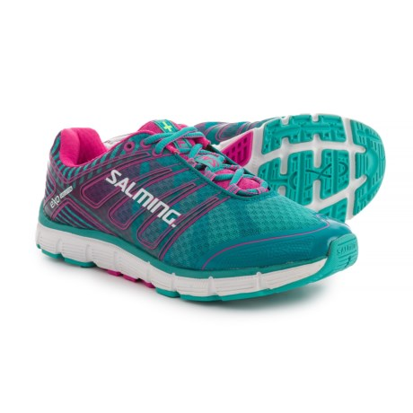 Salming Miles Running Shoes (For Women) in Ceramic Green/Azalea Pink
