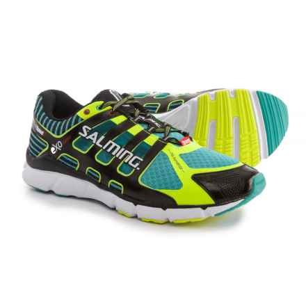 Salming Speed 5 Running Shoes (For Men) in Ceramic Green/Black - Closeouts