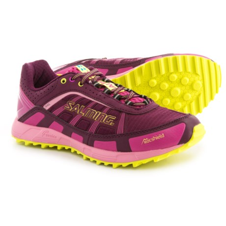 Salming Trail T3 Trail Running Shoes (For Women) in Dark Orchid/Azalea Pink