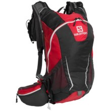 Salomon Agile 17 Hydration Backpack Set - 70 fl.oz. in Bright Red/ Asphalt - Closeouts