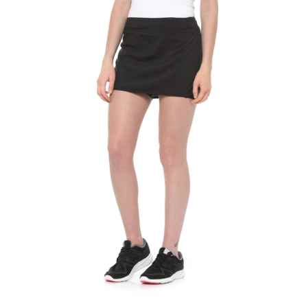 Salomon Agile Skort - UPF 50, Built-In Shorts (For Women) in Black - Closeouts