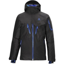 Salomon Cadabra 2L Jacket - Waterproof (For Men) in Black - Closeouts