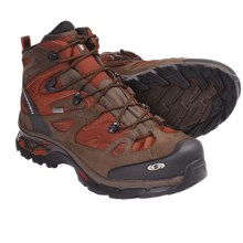 Salomon Comet 3D Gore-Tex® Backpacking Boots - Waterproof (For Men) in Moab Orange/Brown/Black - Closeouts