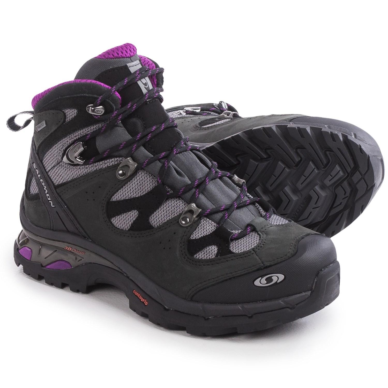 Salomon Womens Waterproof Hiking Shoes