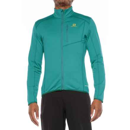 Salomon Discovery Jacket (For Men) in Blue Steel - Closeouts