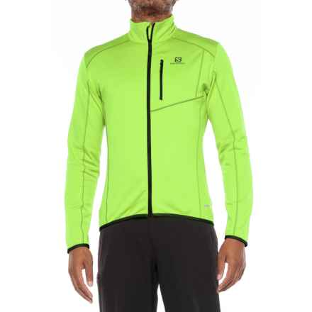 Salomon Discovery Jacket (For Men) in Granny Green - Closeouts