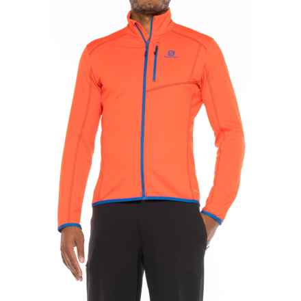 Salomon Discovery Jacket (For Men) in Vivid Orange - Closeouts