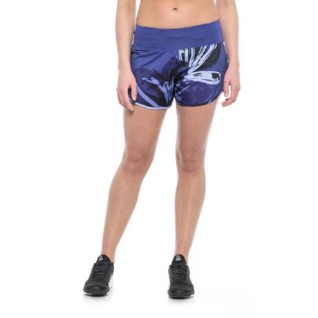 Salomon Elevate 2-in-1 Running Shorts - Built-In Brief (For Women) in Spectrum Blue