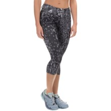 Salomon Elevate 3/4 Tights - UPF 50 (For Women) in Black - Closeouts