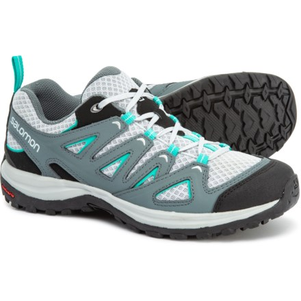 d8af452579 Salomon Ellipse 3 Aero USA Hiking Shoes (For Women) in Quarry/Stormy Weather