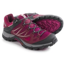Salomon Ellipse Aero Hiking Shoes (For Women) in Mystic Purple/Bordeaux/Mallow Pink - Closeouts