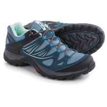 Salomon Ellipse Aero Hiking Shoes (For Women) in Stone Blue/Slateblue/Petunia Blue - Closeouts