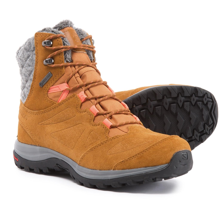 99749f13 Salomon Ellipse Winter Gore-Tex® Hiking Boots - Waterproof (For Women)
