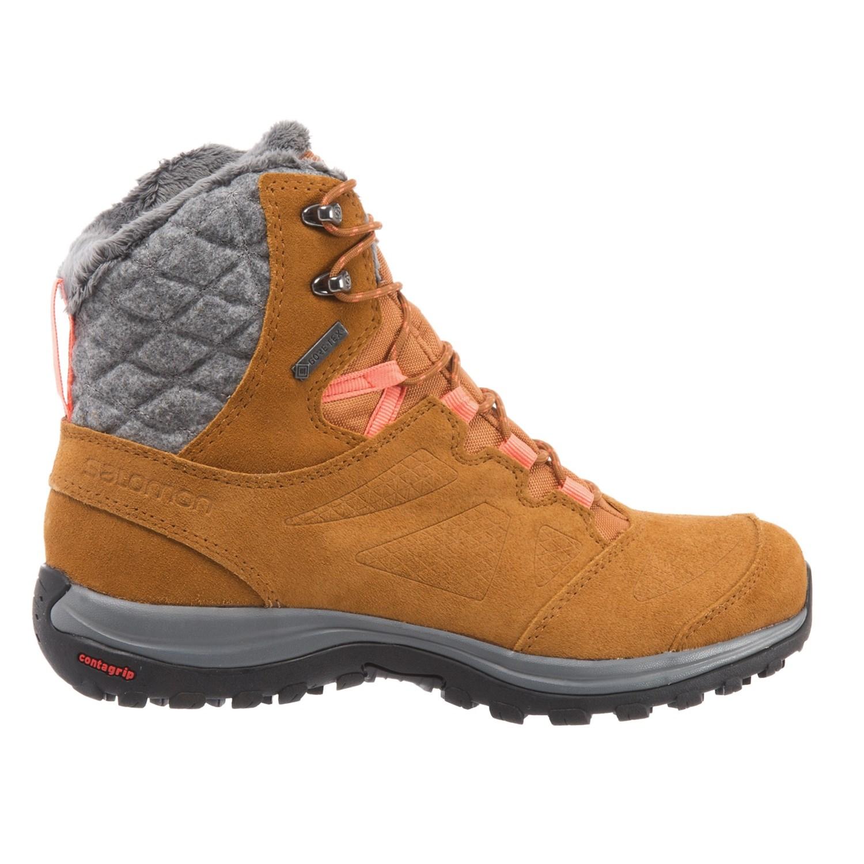eace4a4bc1 Salomon Ellipse Winter Gore-Tex® Hiking Boots - Waterproof (For Women)