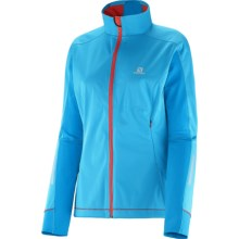 Salomon Equipe Soft Shell Jacket (For Women) in Blue Line/Methyl Blue - Closeouts