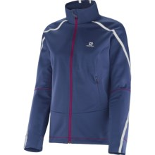 Salomon Equipe Vision Jacket (For Women) in Abyss Blue - Closeouts