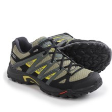 Salomon Eskape Aero Hiking Shoes (For Men) in Nile Green/Tt/Corylus - Closeouts