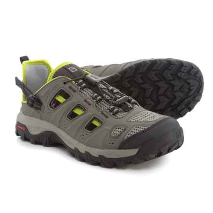 Salomon Evasion Cabrio Water Shoes (For Men) in Tempest/Verdigrey/Gecko Green - Closeouts
