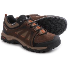 Salomon Evasion Climashield® Hiking Shoes - Waterproof (For Men) in Dark Brown/Burro/Oxide-X - Closeouts