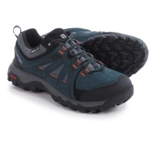 Salomon Evasion Climashield® Hiking Shoes - Waterproof (For Men) in Deep Blue/Cloud/Oxide-X - Closeouts