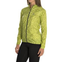 Salomon Fast Wing Graphic Hoodie - UPF 50 (For Women) in Yuzu Yellow - Closeouts