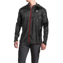 Salomon Fast Wing Hoodie - UPF 50 (For Men) in Black - Closeouts